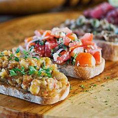 Bruschette estive: le ricette per tutti i gusti