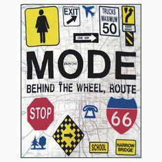 Depeche Mode Shirt Route 66 Behind The Wheel