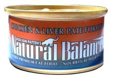 Natural Balance Chicken and Liver Pate Formula Ultra Premium Canned Cat Food * Tried it! Love it! Click the image. (This is an amazon affiliate link. I may earn commission from it)