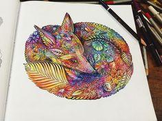Coloring book Millie Marontta's Animal Kingdom by Akiraluu.deviantart.com on @DeviantArt