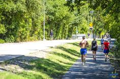More fun on the trail. The Katy Trail in Uptown Dallas will help keep your body and your SOCIAL life in shape.  Katy Trail in Uptown Dallas.
