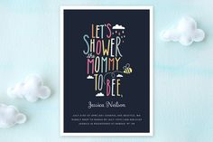 Mommy to Bee Baby Shower Invitations by Karidy Walker at minted.com