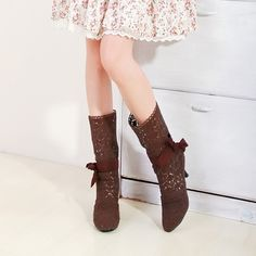 26.04$  Watch now - http://alifq8.shopchina.info/go.php?t=32499049703 - 2014 free shipping women's fashion sexy hollow shoes women fine with large size 35-43 black shoes beige brown  XY052  #magazineonline