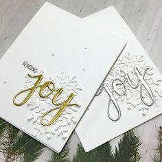 Diy joy christmas cards