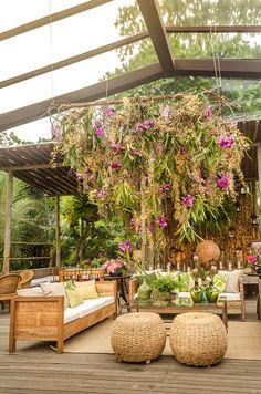 Salon Interior Design, Interior Exterior, Lounges, Bohemian Cafe, Tropical Wedding Reception, Tropical Furniture, Indian Wedding Decorations, Decor Wedding, Wedding Ideas