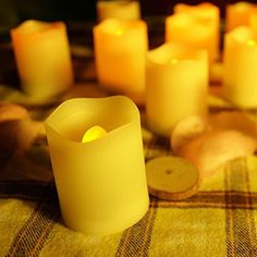 Aliss Queena(TM)Set of 6 Battery Operated Flameless Window Candles with Timer, LED Candles For Weddings, Brides, Parties, Gifts *** Want to know more, click on the image.