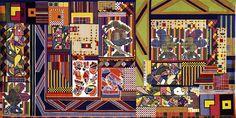 'Whitworth Tapestry' - Eduardo Paolozzi
