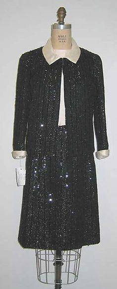 Cocktail suit Chanel 1963-1967