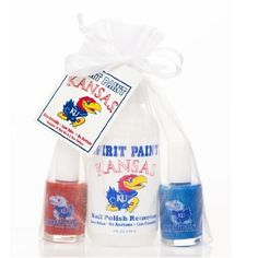 Endeavour Toys - Kansas Jayhawks Spirit Paint Nail Polish Gift Set