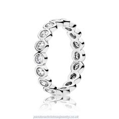e0ce00562 Alluring Brilliant Stackable Ring, Clear CZ - Pandora US. Elian Wooden · Pandora  Charms UK Sale Clearance Store