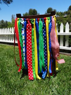 Primary Color Photo Prop, Party Decor, Birthday Chair