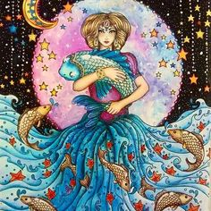 Coloredpencildagdrommar Dagdrommardagdrommarhannakarlzon Hannakarlzon Coloringbook Adultcoloring Adultcoloringbookarttherapy Arte E Colorir