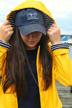 Rain or Shine so cute and preppy. love the nautical style Preppy Outfits, Preppy Style, Winter Outfits, Style Me, Cute Outfits, Nautical Style, Segel Outfit, Spring Summer Fashion, Autumn Winter Fashion