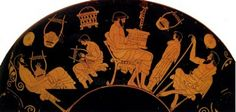 Ancient Greek. New relationship between pupil and teacher raises. The teaching is supply and acceptance of knowledge, knowledge becomes jointly search