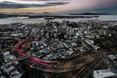 LightPathAKL was initiated when a study identified the potential of an unused former highway offramp to be repurposed to form the western route of an inner city cycleway and complete Auckland's inner city cycle network.