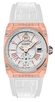 Icon Light Diamond Rose Gold IP White C4106A.02D.RA20 #SavoyIndia