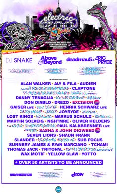 #housemusic ELECTRIC ZOO: THE 6th BORO - Announces Phase 1 Lineup: MADE EVENT, producers of the Electric Zoo Festival, has released the…