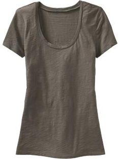 Kind of in love with this Old Navy t-shirt, too.  Hard to say if I love the brown or turquoise one better...I wear them both often.  And the tan-and-white striped one.  And the turquoise-and-grey striped one.  And I'd be lying if I said I only owned those four.