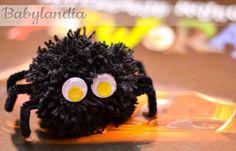 Włochaty pajączek :)