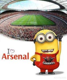 Minions love the Arsenal