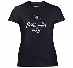 A good quality short sleeve T Shirt. Size Guides Men's T shirts S M L XL Women's T Shirts S M XL XXL Children's T Shirts Age (yrs) Good Vibes Only, Hippy, Cool Designs, Etsy Shop, Clothing, Mens Tops, T Shirt, Shopping, Fashion