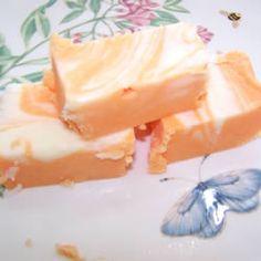 Orange Cream Fudge