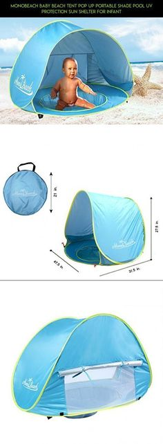 MonoBeach Baby Beach Tent Pop Up Portable Shade Pool UV Protection Sun Shelter for Infant #plans #products #pools #tech #baby #shopping #gadgets #camera #canopy #kit #with #racing #drone #technology #fpv #parts