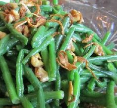 Recipe of the Day: Green Beans, Walnuts & Shallot Crisps