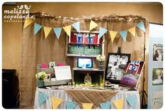 http://www.melissacopeland.com Fall Bridal Show Booth