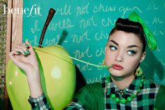Benefit Cosmetics Advertising Campaign- They're Real Mascara Eyeliner | NEW YORK…