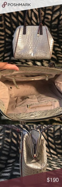 Brahmin purse Used Brahmin purse/ large/ in perfect condition/ no scratch nor scuff Brahmin Bags Shoulder Bags