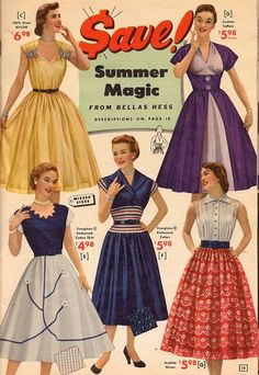 1000 Images About 1950s Fashion On Pinterest Full
