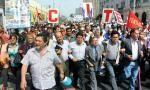 Empleados públicos marcharon en rechazo a Ley de Servicio Civil