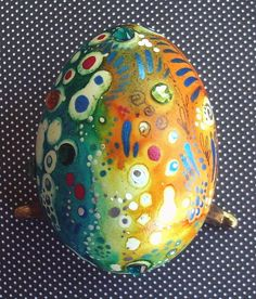 Hand Painted Egg by MandarinMoon, via Flickr