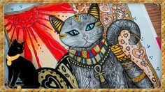 Creative haven cats | Adult colouring book | Speed colouring | HAVE FUN