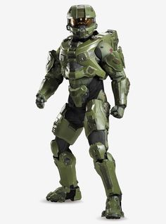 Men's Halo Master Chief Ultra Costume Master Chief Cosplay, Master Chief Costume, Master Chief And Cortana, Halo Master Chief, Costumes For Sale, Cool Costumes, Halloween Costumes, Operation Costume, Adult Darth Vader Costume