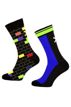 Muchachomalo sokken voor jongens House, zwart