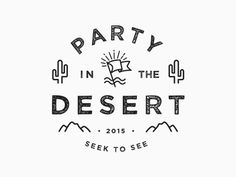 Currently working on the branding & t-shirt design for my church's yearly retreat to Palm Springs. I'd actually really love some constructive feedback on this one if you have any thoughts to sh...