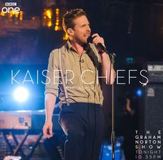 The Kaiser Chefs perform on The Graham Norton Show tonight. Oh Ricky.