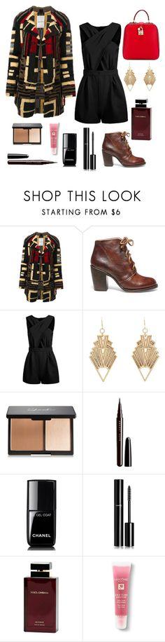 """Senza titolo #83"" by missmarella on Polyvore featuring moda, Valentino, Steve Madden, Charlotte Russe, Marc Jacobs, Chanel, Dolce & Gabbana Fragrance, Lancôme e Dolce&Gabbana"
