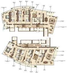 The Pentominium Dubai Penthouse Apartment Floor Plans, House Floor Plans, Luxury Penthouse, Penthouses, Condominium, Apartments, Skyscraper, Maps, Architecture Design