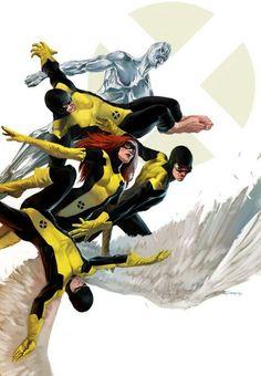 X-Men: First Class by Marko Djurdjevic