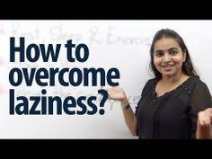Come superare la pigrizia? - Lezione Intermediate Inglese