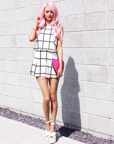 Monochrome and Pink
