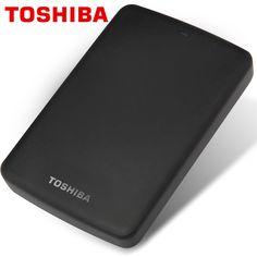 "TOSHIBA 1TB External HDD 1000GB HD Portable Hard Drive Disk USB 3.0 SATA3 2.5"" HDTB110A 100% Original New"