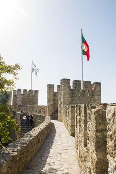 Castelo de São Jorge - Lisboa, Portugal
