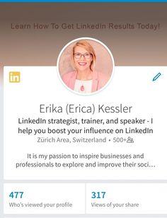 Der erste Eindruck bei der LinkedIn Mobile App.