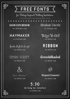 free-fonts-for-vintage-rustic-wedding-invitations-ahandcraftedwedding