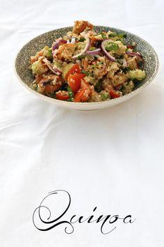 Quinoa-Brot-Salat