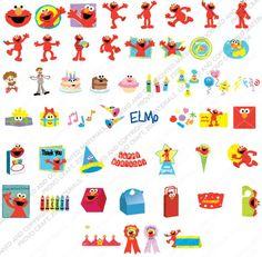 www.cricut-cartridges.com | Categories: Cricut Cartridges , Shape - Tags: Elmo's Party
